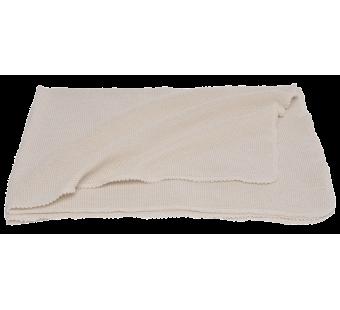 Reiff bourette silk blanket natural
