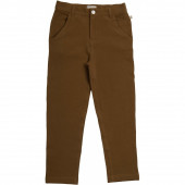 Minimalisma cotton pants epsilon Wood