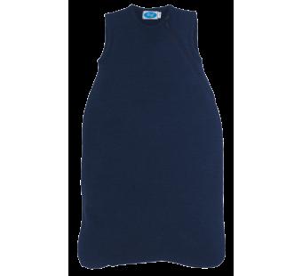 Reiff wool silk terry sleeping bag navy
