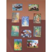 Set van 10 sprookjeskaarten