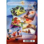 Set van 5 kaarten 'wolschilderijtjes'