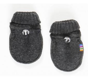 Joha woolfleece mittens dark grey (97978)
