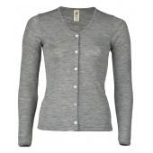 Engel wool silk  cardigan Grey