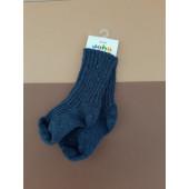 Joha woolen socks jeans blue