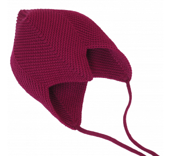 Reiff  woolen hat berry red