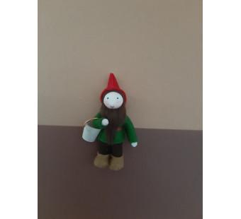 Seasonal table Pocket dwarf red woth basket