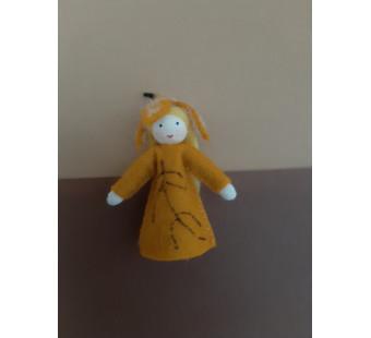 Seasonal doll beechnut