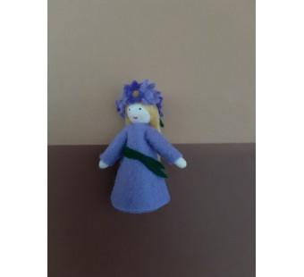 Seasonal doll aster girl