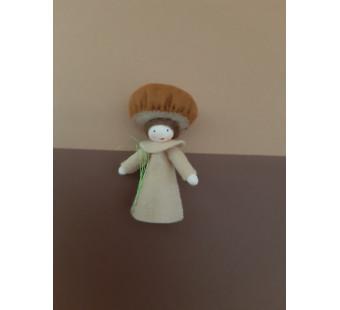 Seasonal doll brown fungus