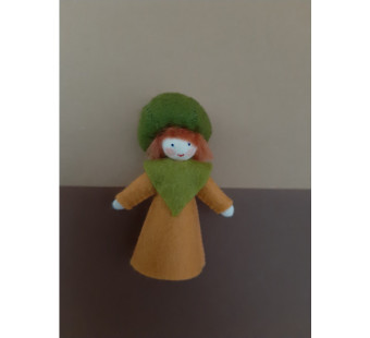Seasonal doll pumpkin boy