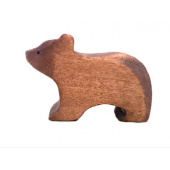 Brindours wooden young  bear