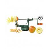 Kids at work apple cut machine