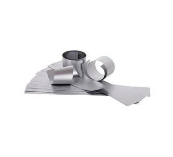 Sterrenrepen papier zilver
