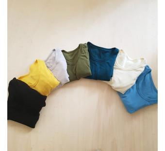 Green Rose woolen breastfeeding shirt different colours