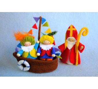 Sinterklaas Bootje (Atelier Pippilotta)