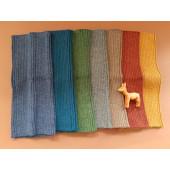 De Colores buikband van baby alpaca in diverse kleuren