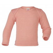 Engel wool silk longsleeve salmon