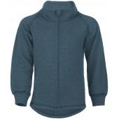 Engel sportive woolen zip jacket atlantic blue