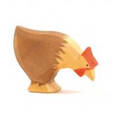 Ostheimer pikkende kip bruin (13123)