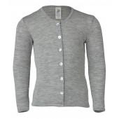 Engel wool silk cardigan Navy