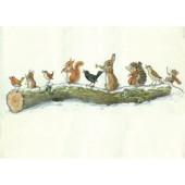 Postcard Greetings animals  (Molly Brett) 280