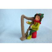 Harpspeler  (atelier Pippilotta)