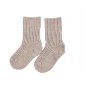 Joha sand melange woolen socks 90% wool