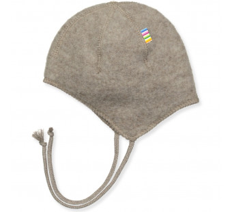 Joha  woolfleece bonnet browngrey (97974)