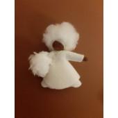 vilten poppetje Sneeuwmeisje