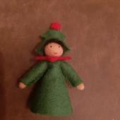 Seasonal doll christmas tree 2