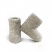 Alwero woolen carpet slippers natural