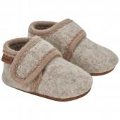 En-Fant woolen baby slippers sand