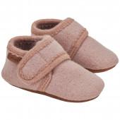 En-Fant woolen baby slippers dark grey