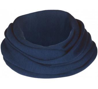 Engel wolzijde sjaal navy