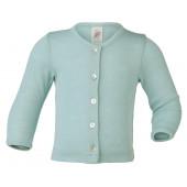 Engel wool silk cardigan light blue