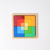 Grimms  creatieve set vierkanten (43311)