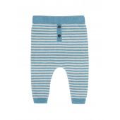 Puri organics pants cotton/linen Bristol Blue