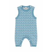 Puri organics playsuit cotton/linen Bristol Blue