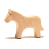 Ostheimer natuurhouten paard (525)