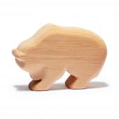 Ostheimer natuurhouten beer lopend (555)