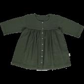 Poudre Organic jurk Aubepine forest green