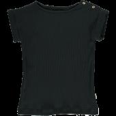 Poudre Organics Tshirt Bourache Pirate Black