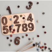 Montessori puzzel 0-9