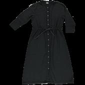 Poudre Organic ladies dress Girofle Pirate Black