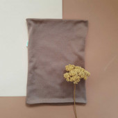 Green rose wollen sjaal bruin