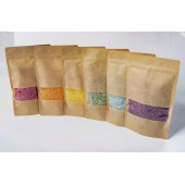 Montessori Lavender infused Rainbow Coloured rice set for sensory play