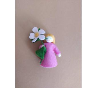 Seasonal doll pink flower