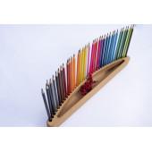 Montessori potlodenhouder (voor dunne potloden) 36 stuks