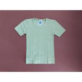 Cosilana tshirt katoen/wol/zijde groen (91232)