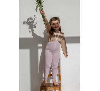 Silly Silas cotton footless tights Creamy Lavender
